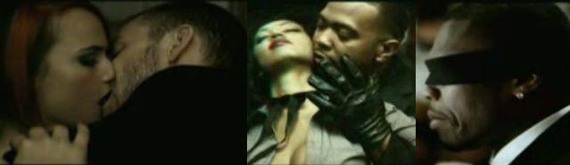 50 Cent, Justin i Timbaland w klipie