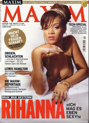 Rihanna w niemieckim Maximie