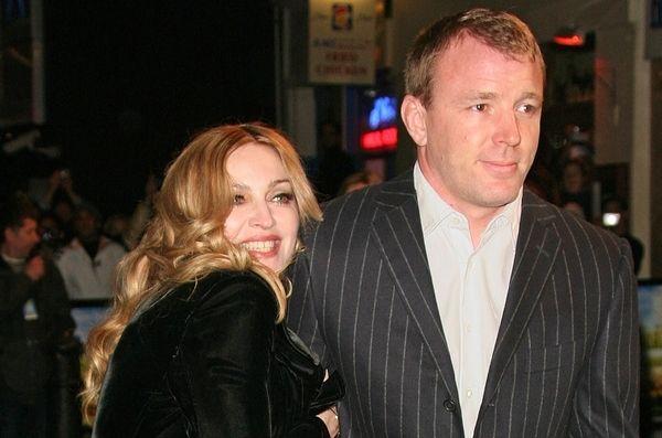 Madonna i jej mąż najlepiej ubrani