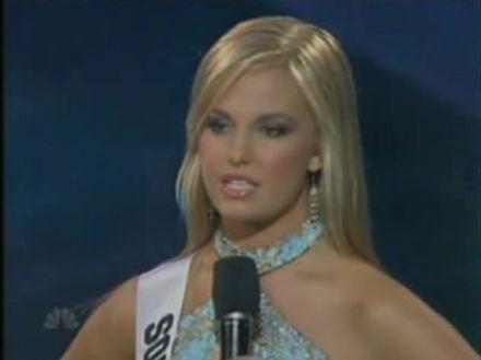 Wpadka na Miss Teen USA 2007