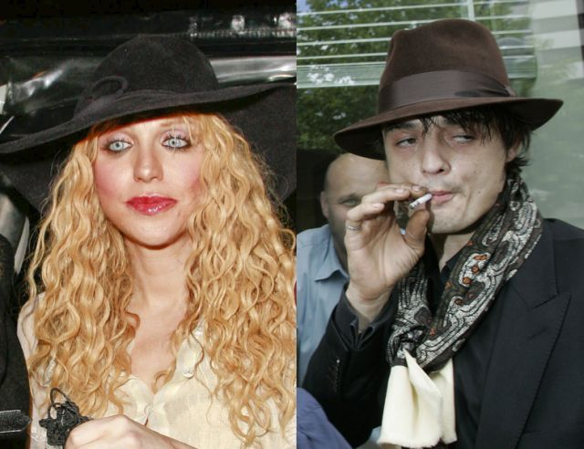 Pete Doherty i Courtney Love razem?