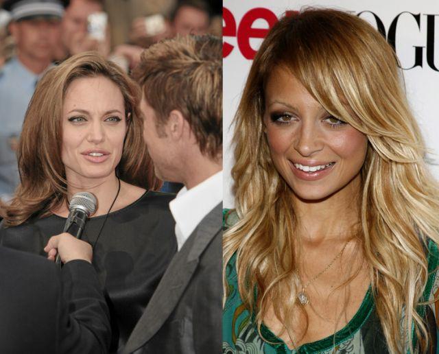 Angelina Jolie radzi Nicole Richie