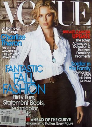 Charlize Theron dla Vogue
