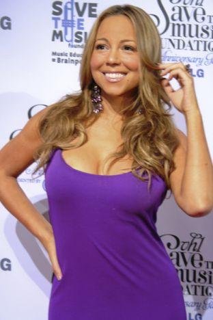 Mariah Carey tym razem w długiej sukni (FOTO)