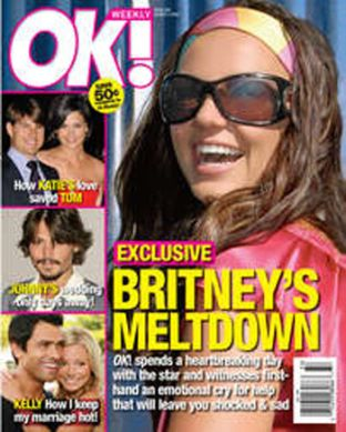 Britney nie kryje już łez...