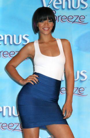Rihanna właścicielką najlepszych nóg