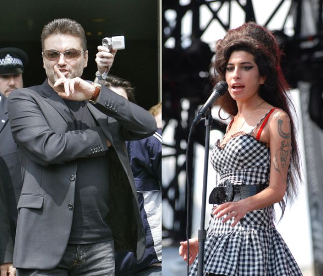 George Micheal wspiera Amy Winehouse