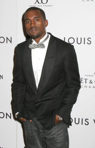 Na urodzinach Kanyego Westa