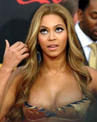 Beyonce w opiętej sukni (FOTO)