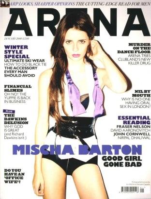 Mischa Barton dla Areny i Maxima (FOTO)