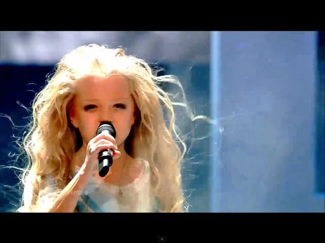 10-latka z Ukrainy wygra�a Eurowizj� dla Dzieci 2012 [VIDEO]