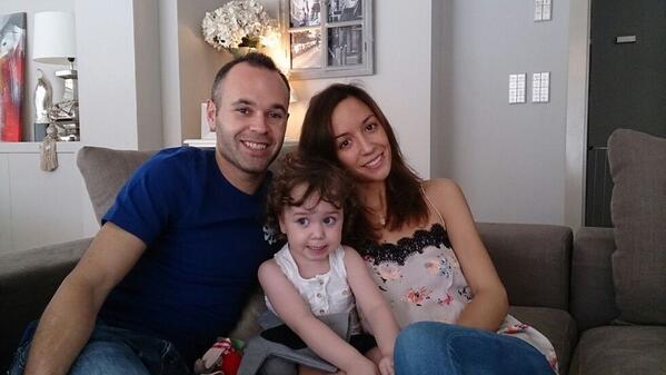 Żona Andresa Iniesty poroniła w siódmym miesiącu ciąży
