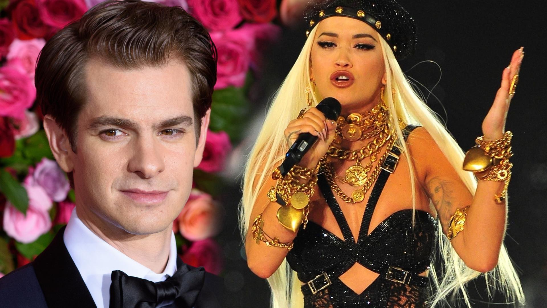 Rita Ora spotyka się z Andrew Garfieldem