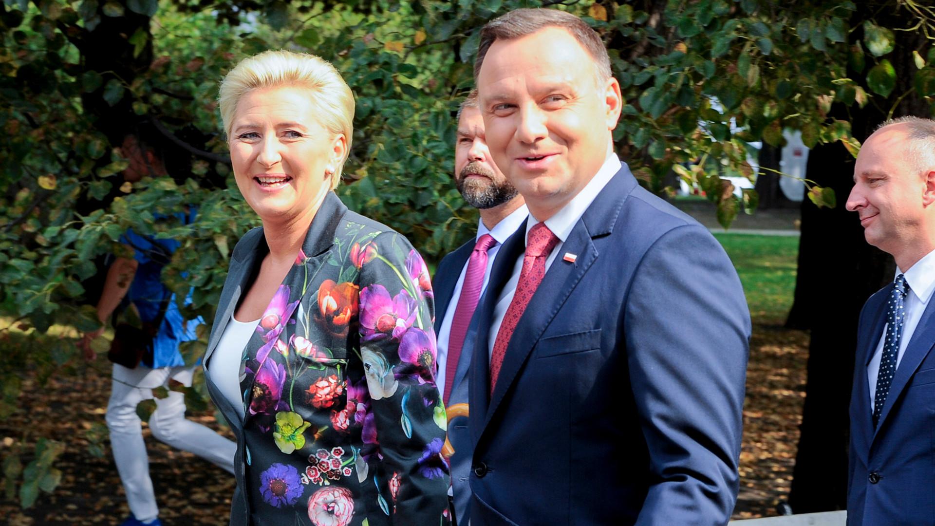 Andrzej Duda zdradził, co z żoną, Agatą Dudą, robią wieczorami