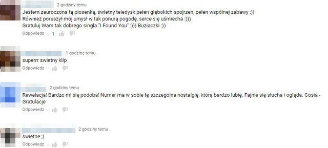 Internauci zachwyceni nowym teledyskiem Gosi Andrzejewicz