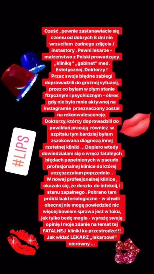 Anelli zaszkodziły OPERACJE! Ma poważne problemy ze zdrowiem (Instagram)