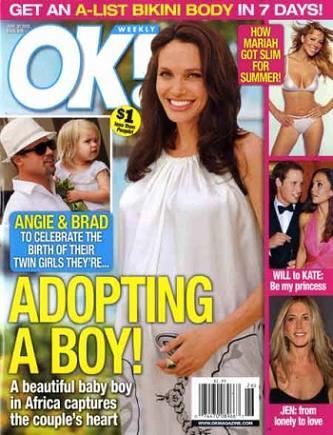 Angelina adoptuje kolejne dziecko?