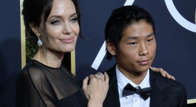 Złote Globy 2018: Angelina Jolie z mężczyzną u boku (ZDJĘCIA)