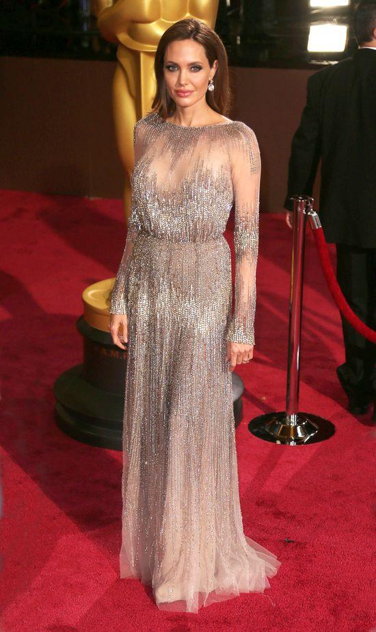 Brad Pitt i Angelina Jolie na rozdaniu Oscarów (FOTO)