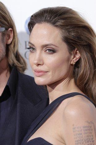 Angelina Jolie: Brad znalazł mnie płaczącą pod prysznicem