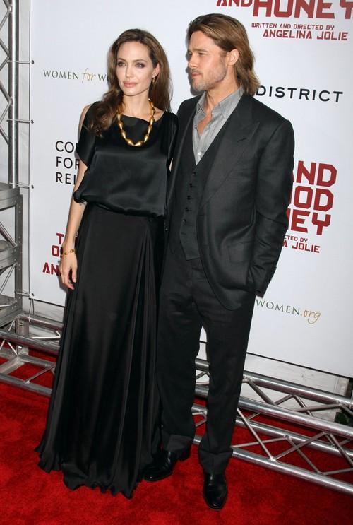 Angelina i Brad wydali 40 tys. dolar�w na miejsce schadzek