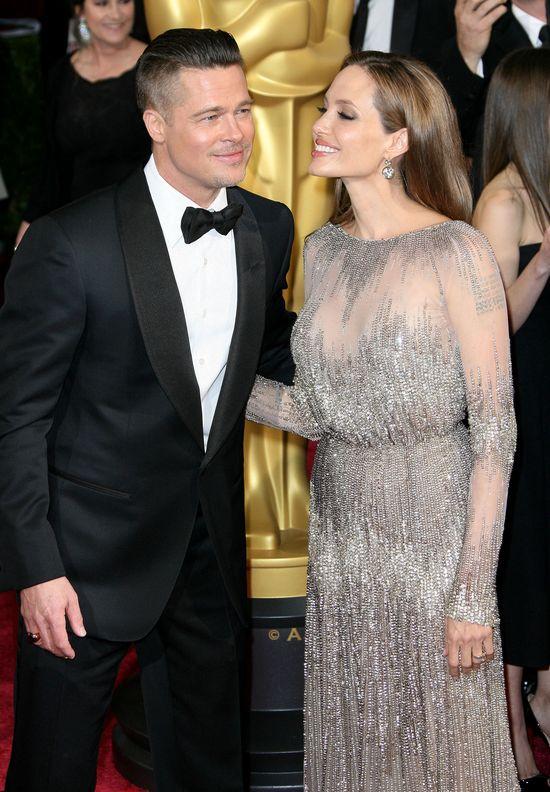 To był ostatni wywiad Angeliny Jolie i Brada Pitta. Jak się zachowywali?