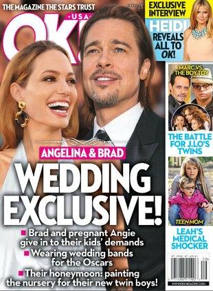 Angelina Jolie jest w ciąży z bliźniętami…