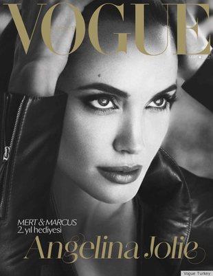Angelina Jolie na okładce tureckiego Vogue (FOTO)