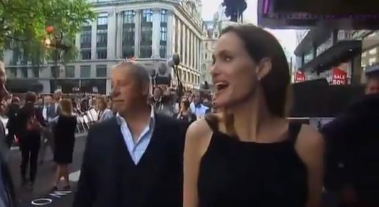 Angelina Jolie pierwszy raz publicznie po mastektomii (VIDEO