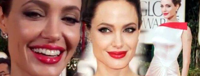 Angelina Jolie na gali Złotych Globów (FOTO)