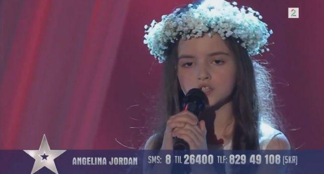 8-letnia Angelina Jordan w finale norweskiego Mam talent