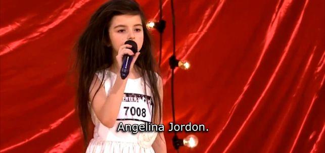 Angelina Jordan ma starą duszę [VIDEO]