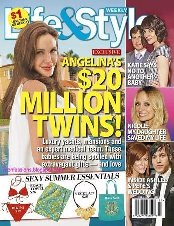 Bliźniaki Brangeliny warte 20 milionów!