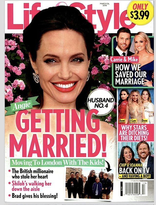 Angelina Jolie bierze ŚLUB!
