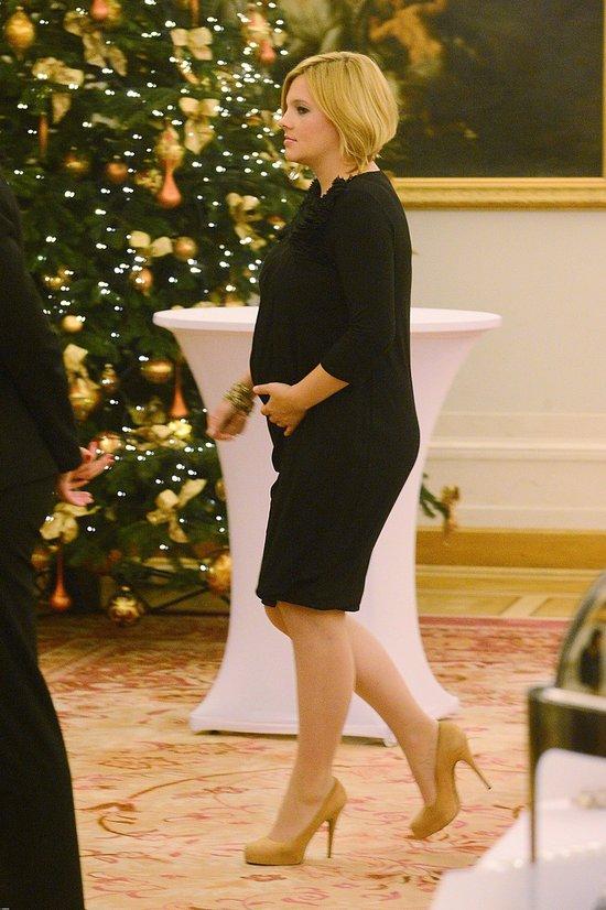 U Ani Dąbrowskiej widać już ciążowy brzuszek (FOTO)