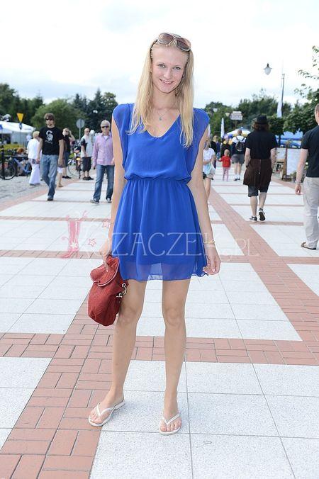 Ania Piszcza�ka - ulubiona modelka fotoreporter�w (FOTO)