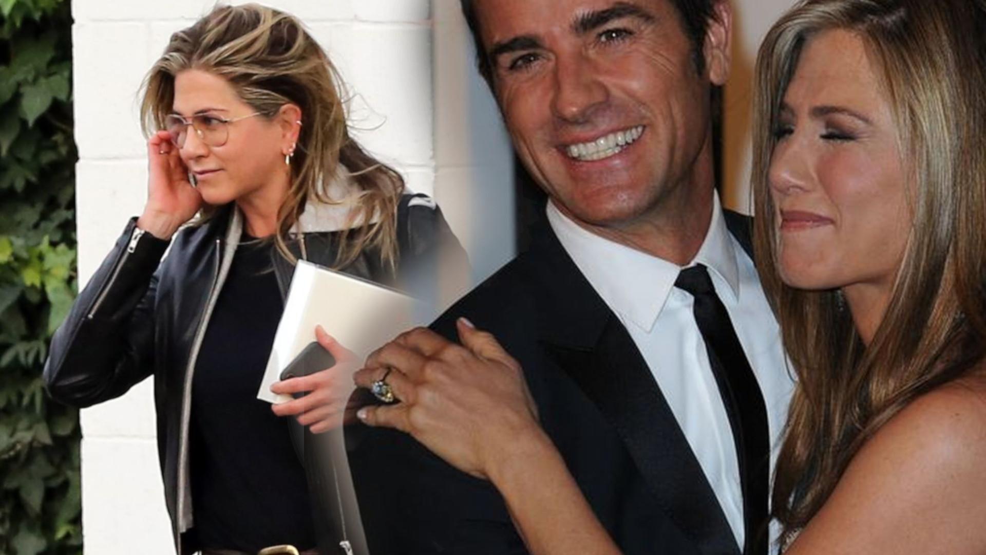 Znamy KOSZMARNE szczegóły rozwodu Jennifer Aniston i Justina Theroux