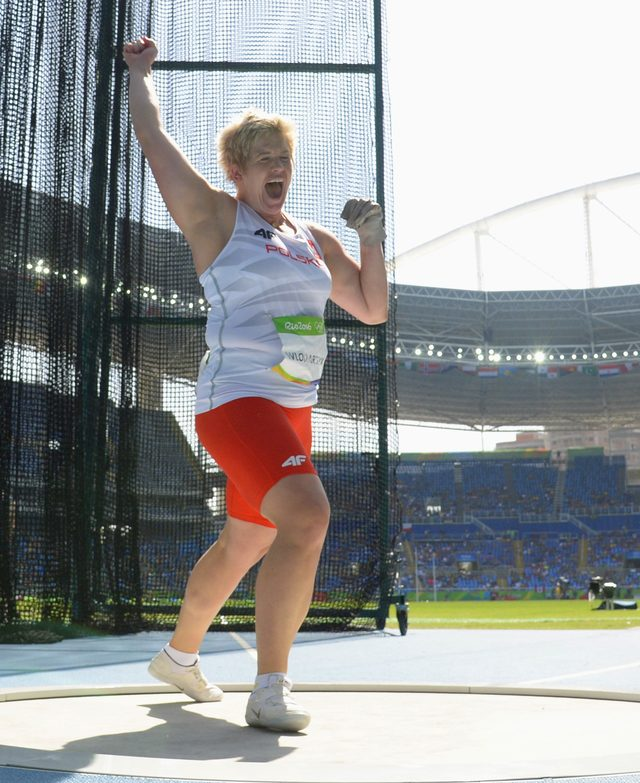 Anita Włodarczyk szaleje ze szczęścia - ma ZŁOTY medal