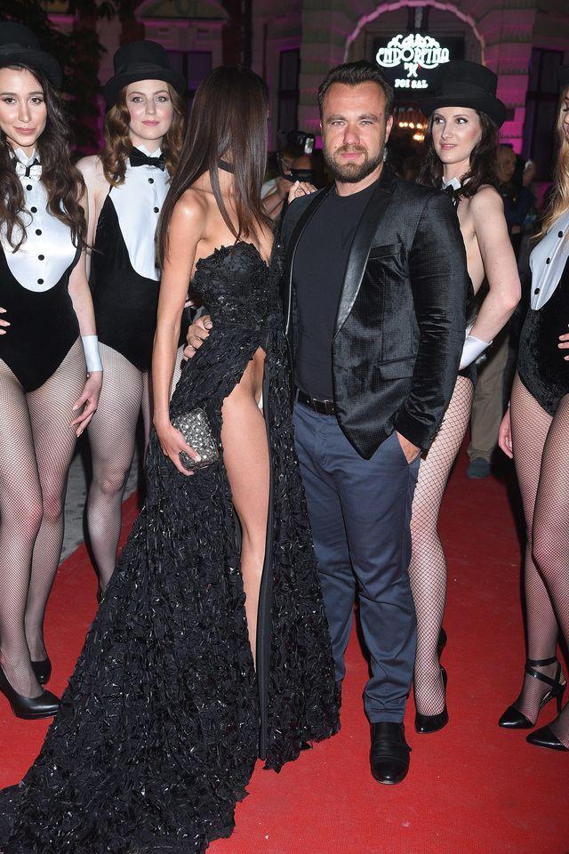 Anita Sikorska na gali Playboya otarła się o skandal (ZDJĘCIA)