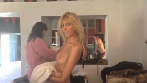 Anja Rubik nago dla francuskiego Vogue'a (FOTO + VIDEO)