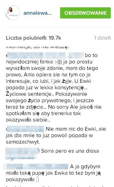 Fanki Lewandowskiej zniesmaczone... PUPĄ Chodakowskiej