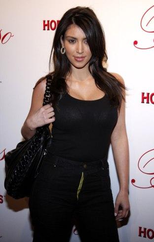 Kim Kardashian na otwarciu Beso Restaurant (FOTO)