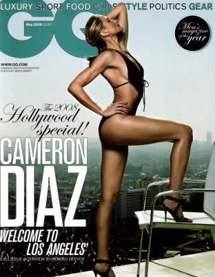 Cameron Diaz dla GQ UK (FOTO)