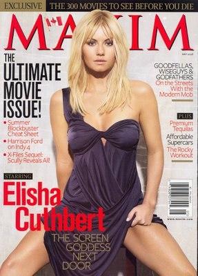 Elisha Cuthbert dla Maxima