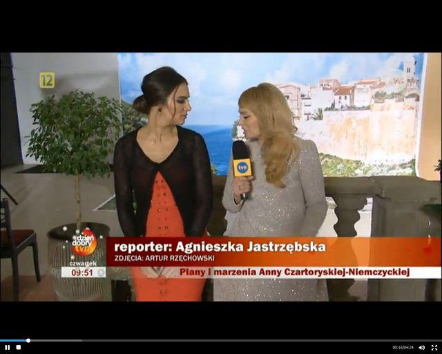 Piękna Anna Czartoryska jak Monica Bellucci (FOTO)