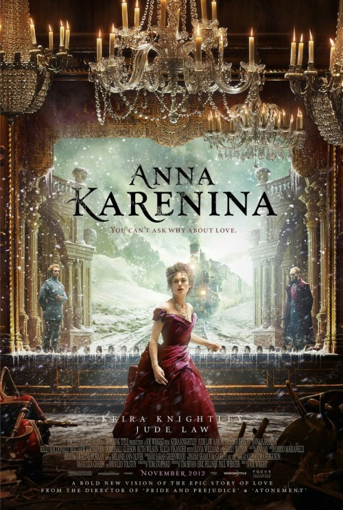 Keira Knightley jako Anna Karenina (VIDEO)