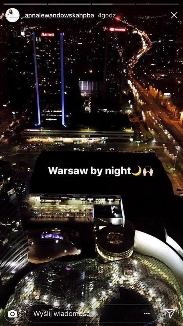 Anna Lewandowska z Klarą w nowym apartamencie kupionym przze Roberta (Instagram)