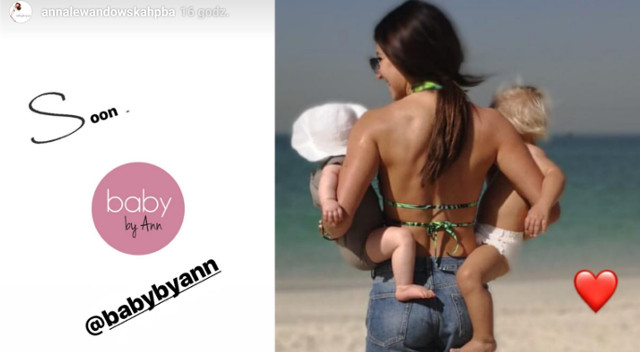 Anna Lewandowska reklamuje nową markę – będzie sprzedawać produkty dla dzieci?