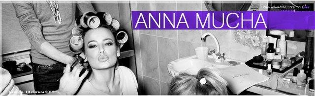 Anna Mucha rozczarowana polskimi kibicami (FOTO)