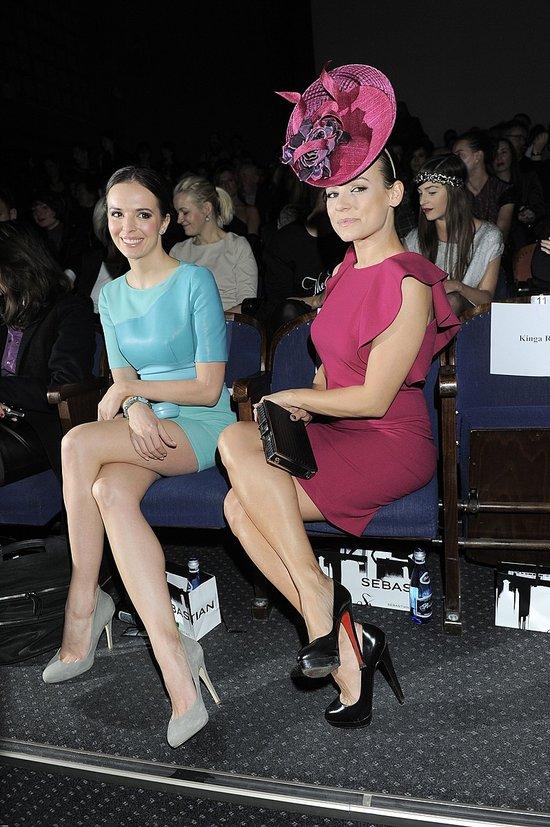 Anna Mucha pomyliła pokaz mody z turniejem w Ascott? (FOTO)
